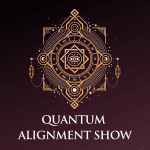 Human design and Quantum Alignment mystical eye logo