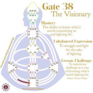 Gate 38 - The Visionary