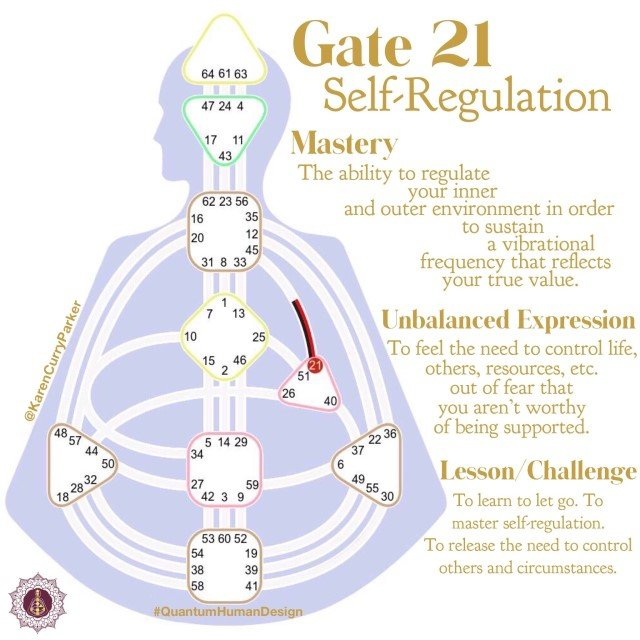 Gate 21 Self-Regulation