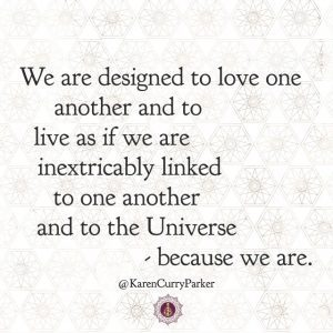 We are designed to love one another